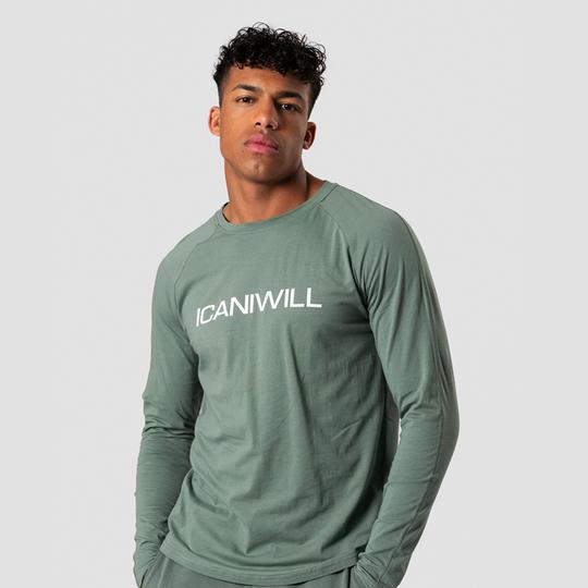 Essential Long Sleeve, Racing Green