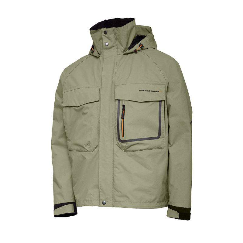 Savage Gear SG2 Hybrid Jacket Slate XXL 2-lags vanntett jakke i Slate Green