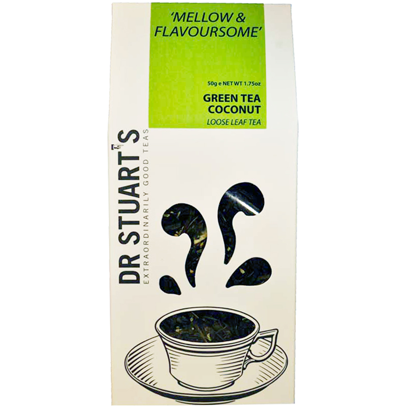 Green tea coconut loose leaf - 51% rabatt