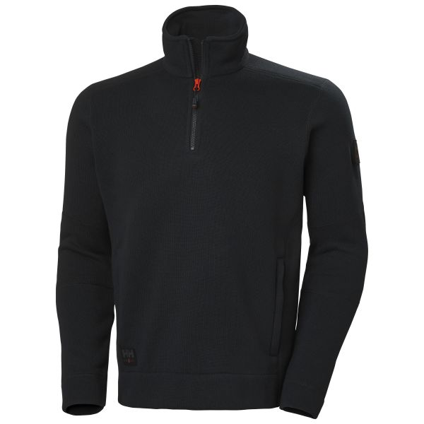 Helly Hansen Workwear Kensington Fleecejacka svart XS