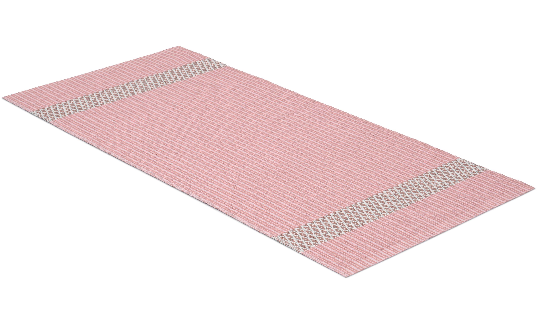 Freja rosa - plastteppe
