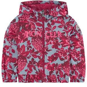 Moncler Waterproof Floral Vindjacka Rosa 5 år