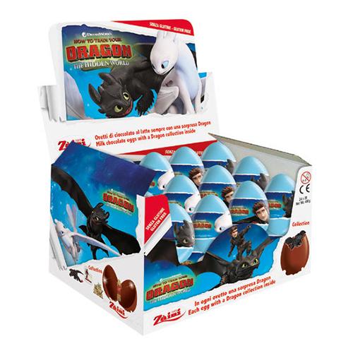 Draktränaren Chokladägg - 1-pack