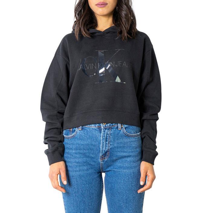 Calvin Klein Jeans Women Sweatshirt Various Colours 234724 - black S