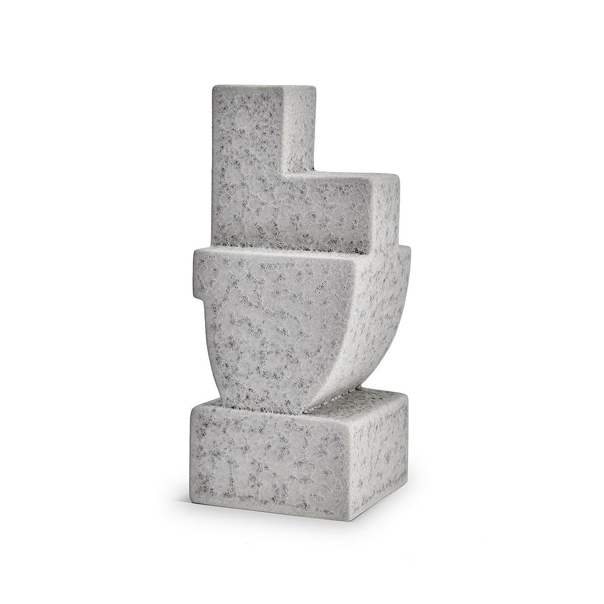 L'Objet I Cubisme Bookend Grey