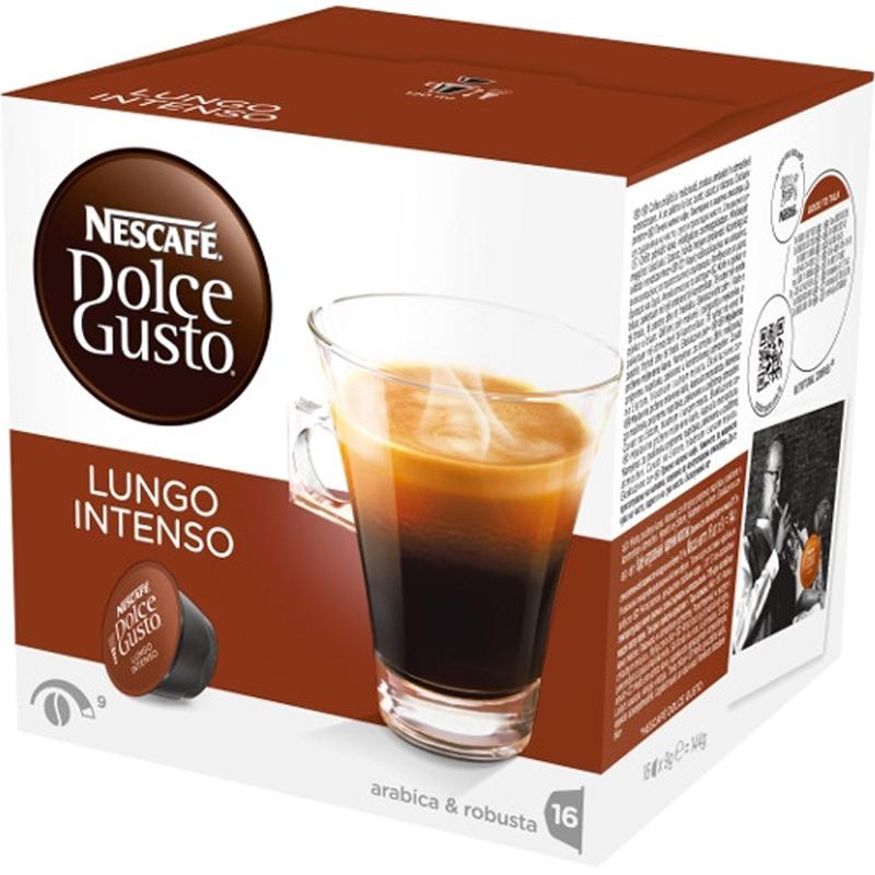 """Kaffekapslar """"Lungo Intenso"""" 16-pack - 44% rabatt"""