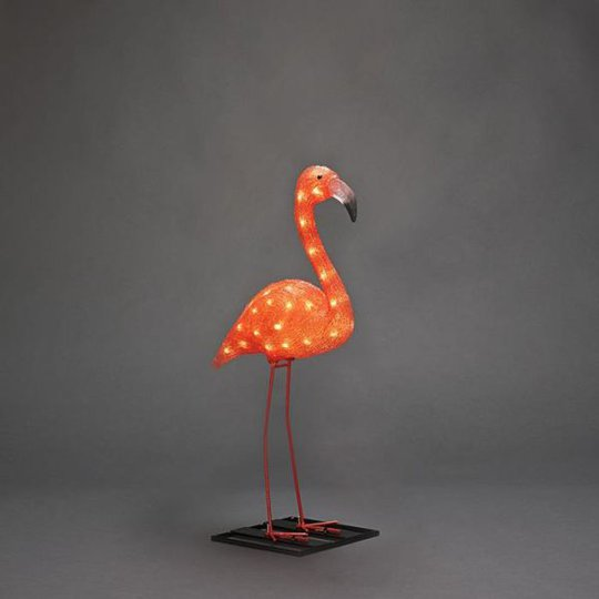 Konstsmide 6272-803 Koristevalaisin flamingo