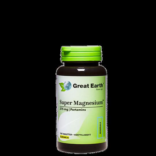 Super Magnesium 375 mg, 100 tabletter