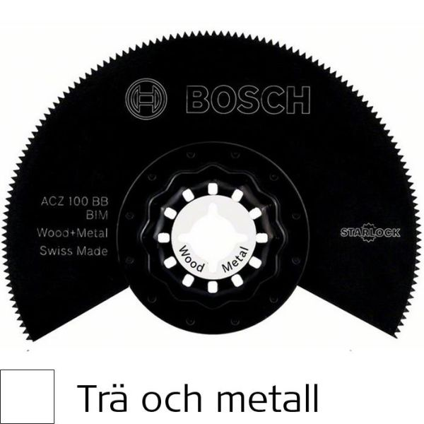 Bosch ACZ100BB BIM Sagblad