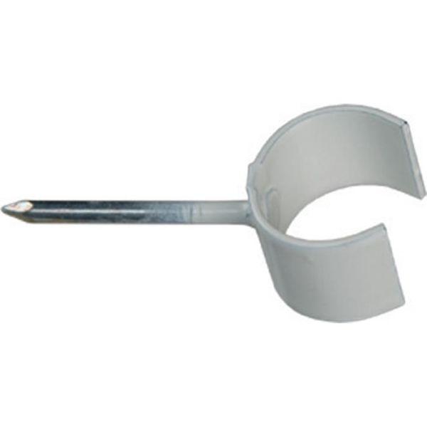 Schneider Electric TKK 10-14 V 25 Spikerklammer 10–14 mm, hvit, 100-pakning Spikerlengde 25 mm