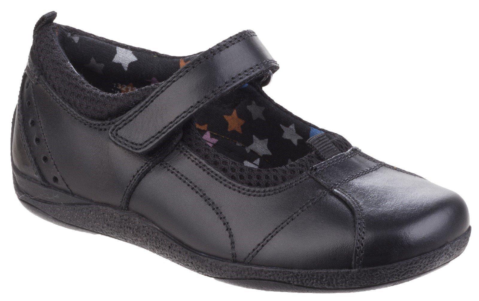 Hush Puppies Kid's Cindy Back To School Shoe Black 25319 - Black 10 UK