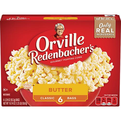 Orville Redenbachers Popcorn Butter 6-Pack