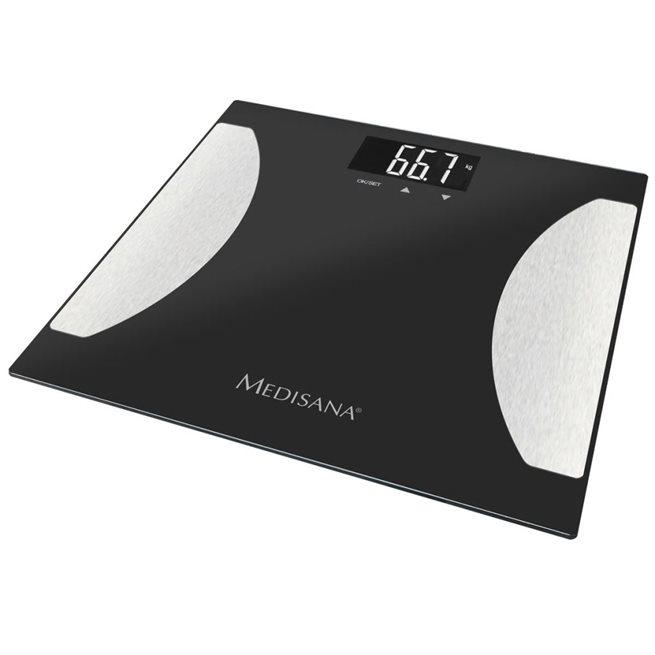 vidaXL Badrumsvåg med fettprocentvisning