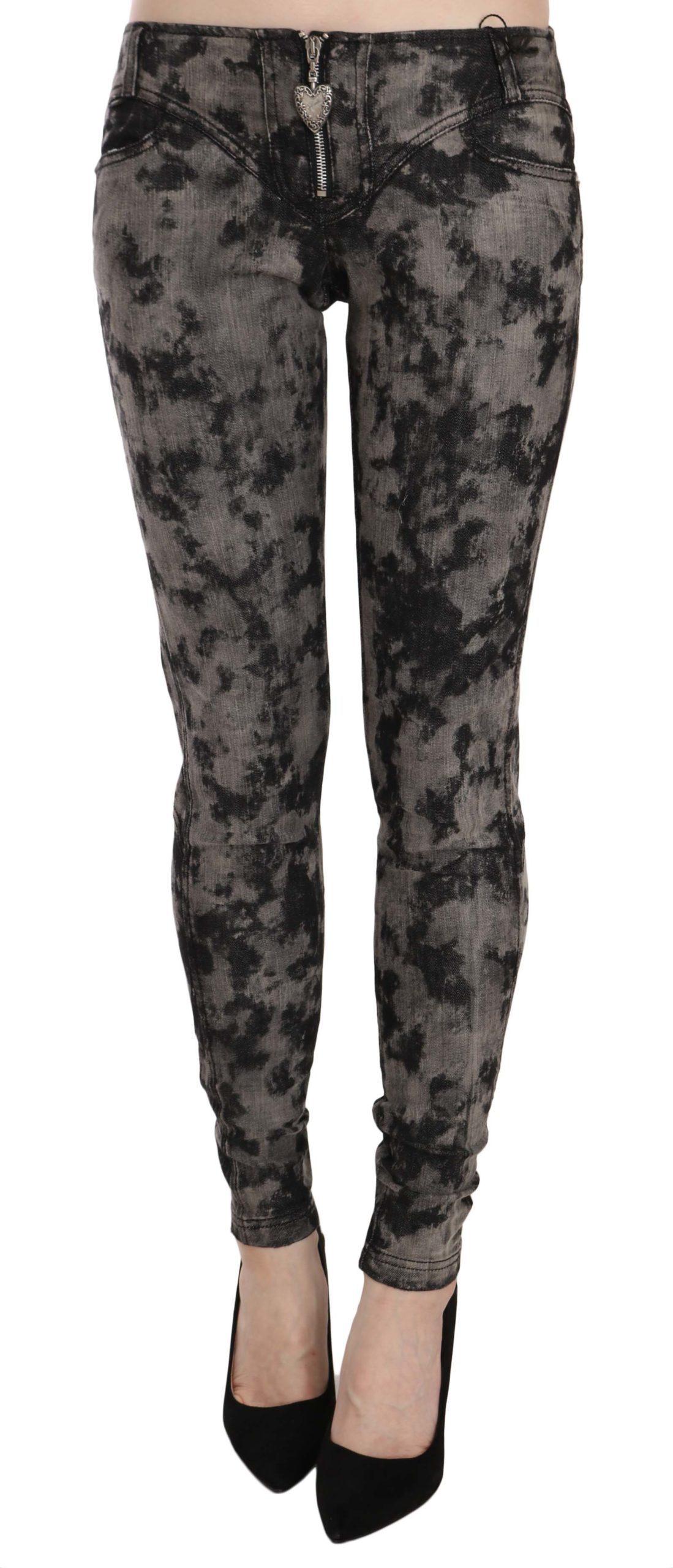 Just Cavalli Women's Low Waist Skinny Denim Trouser Multicolor PAN70329 - W26