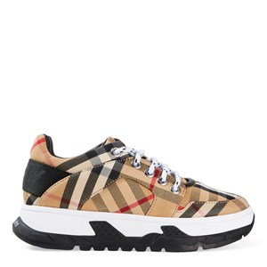 Burberry Brockton Check Sneakers Archive Beige 28 (UK 10)