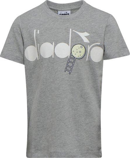 Diadora T-Shirt, Grey Melange S