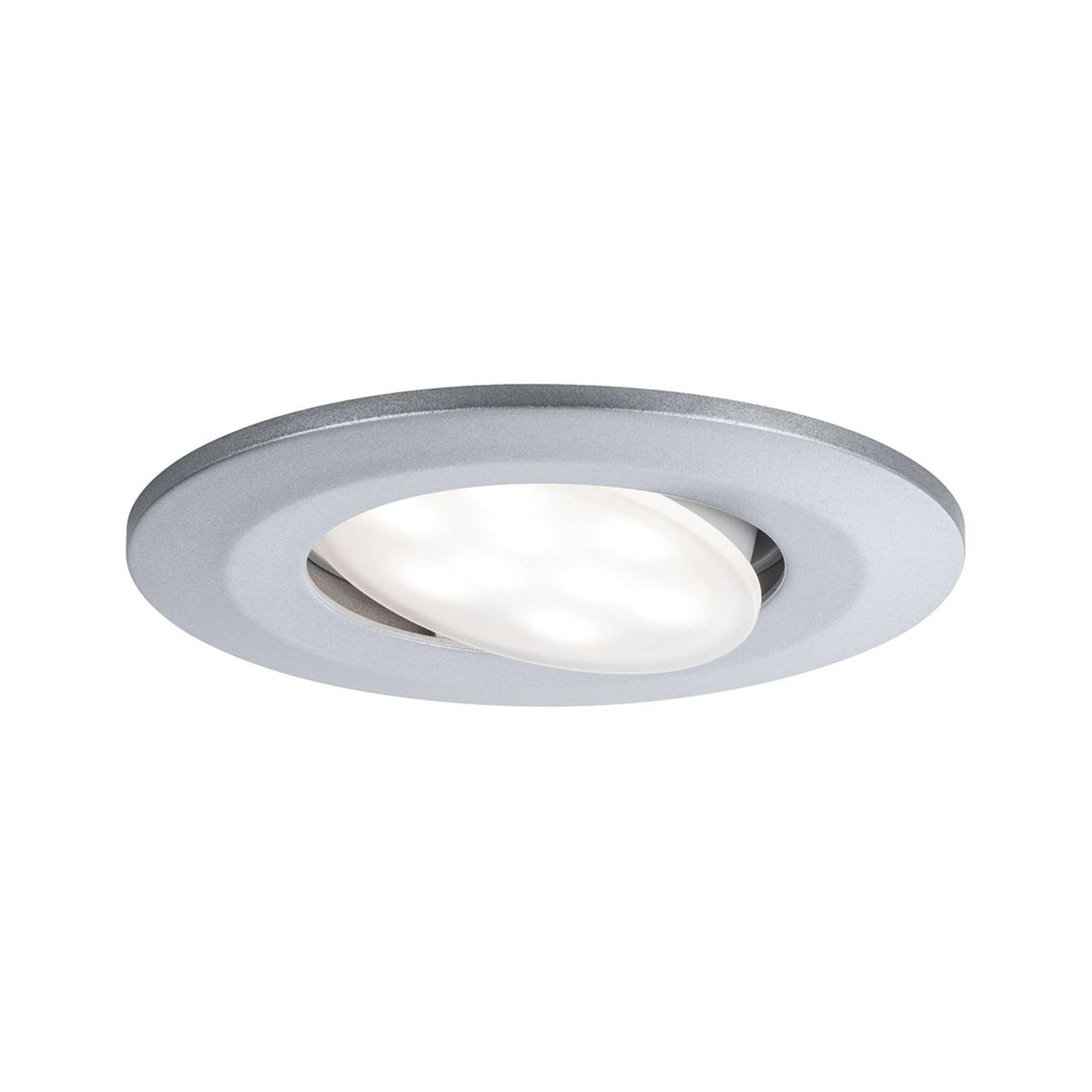 Paulmann utendørs LED-downlight Calla krom