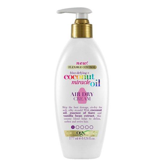 Coconut Miracle Oil Air Dry Cream, 177 ml OGX Lämpösuoja