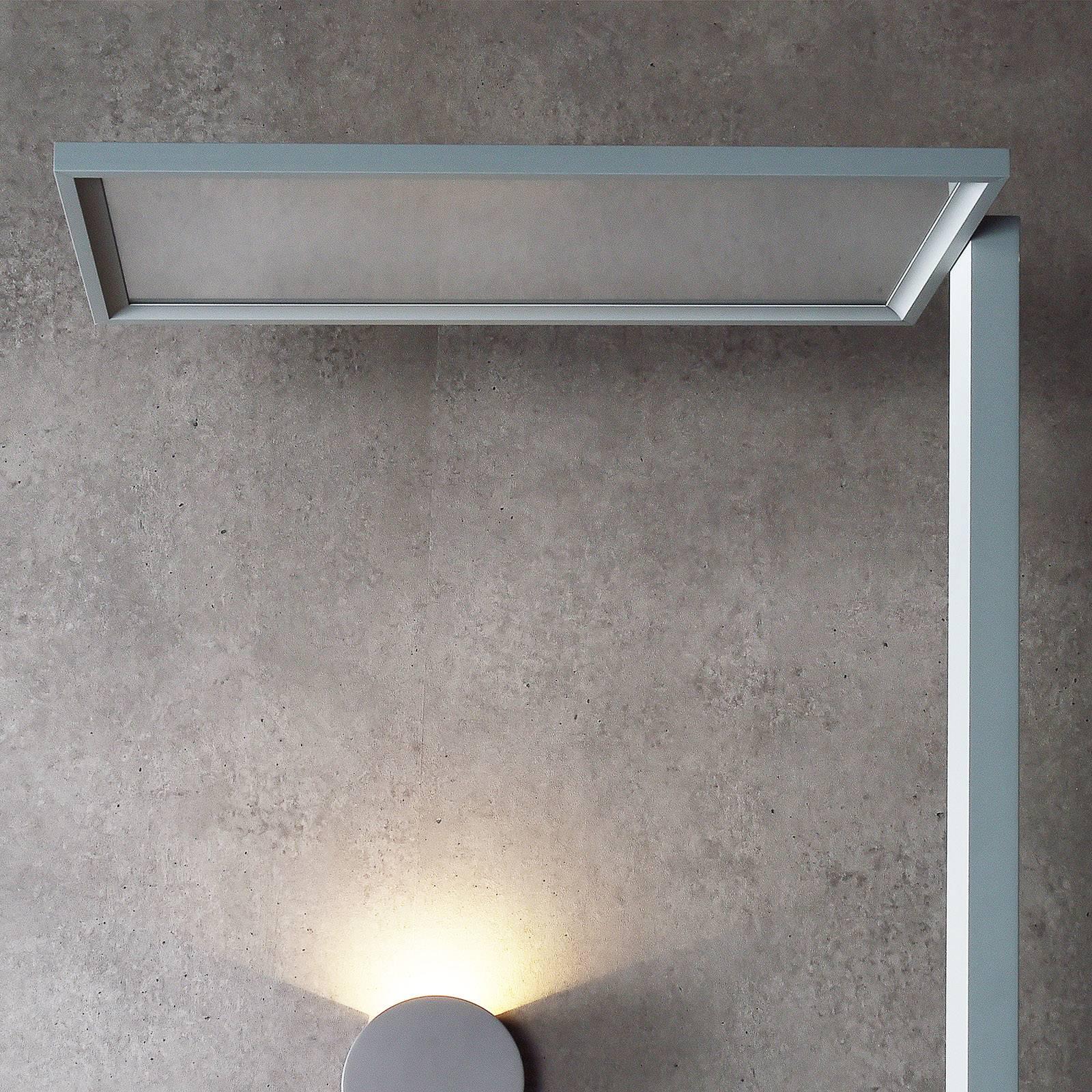 LED-lattiavalo Office One Transparent kosketushimm