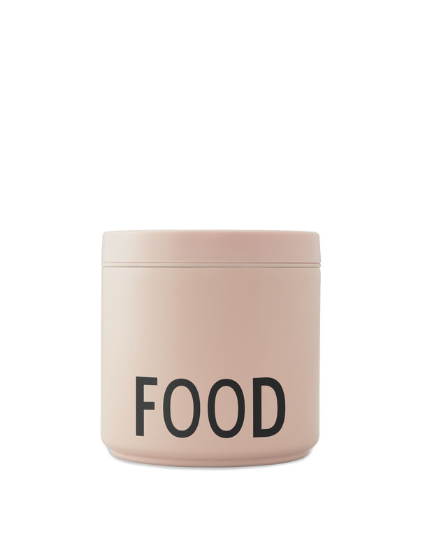Design Letters - Thermo Lunch Box Large - Nude (30101006NUBLAFOOD)