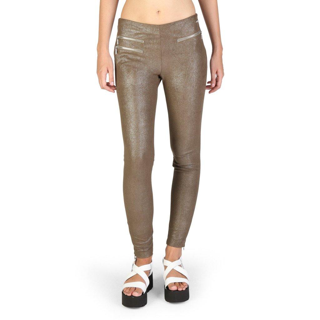 Guess Women's Trouser Brown W74B05W9540 - brown S