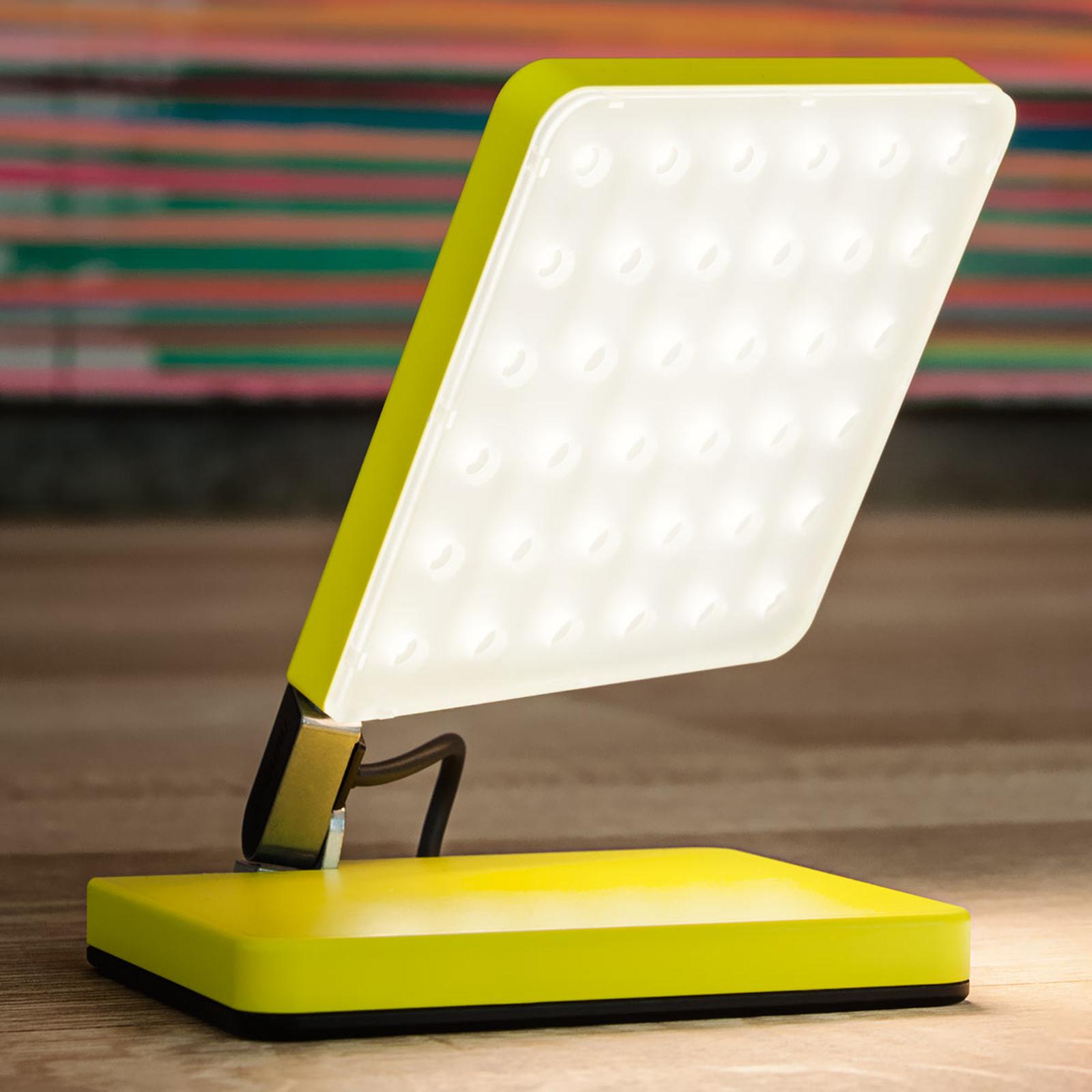 Nimbus Roxxane Fly LED-pöytävalaisin neonkeltainen