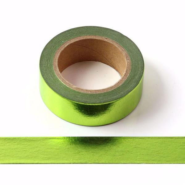 Green Foil Washi Tape