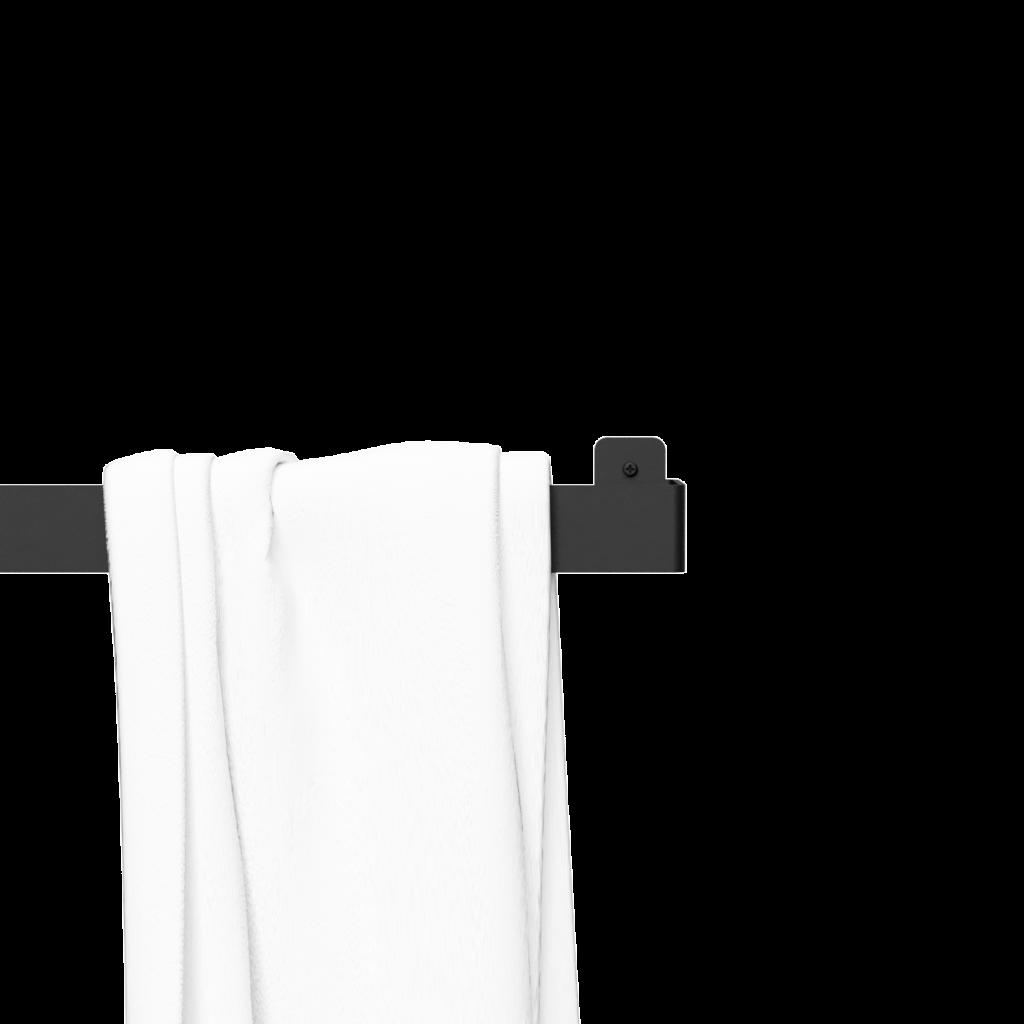 Nichba - Towel Hanger - Black (L100102)