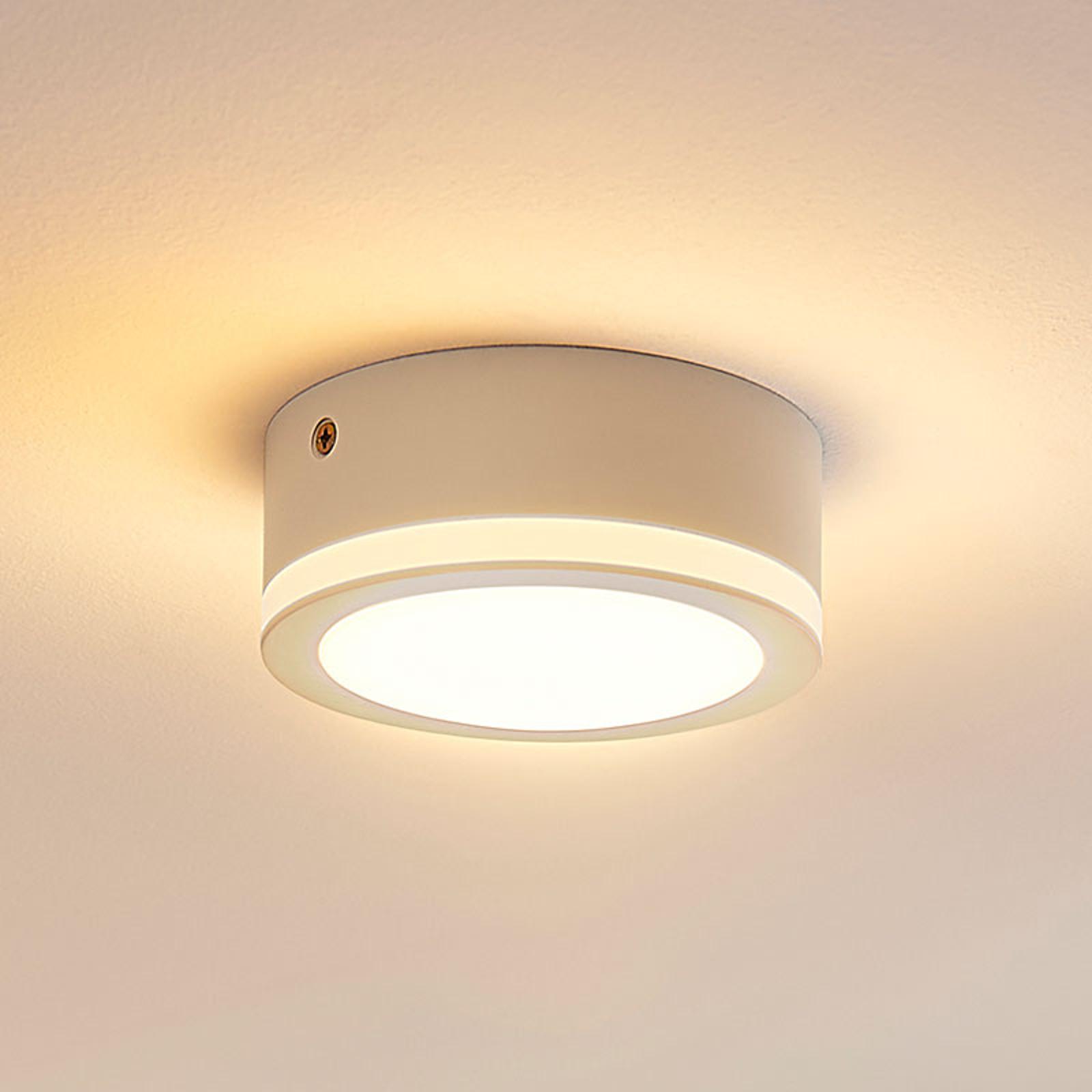 Pelkistetty pyöreä LED-kattovalaisin Quirina