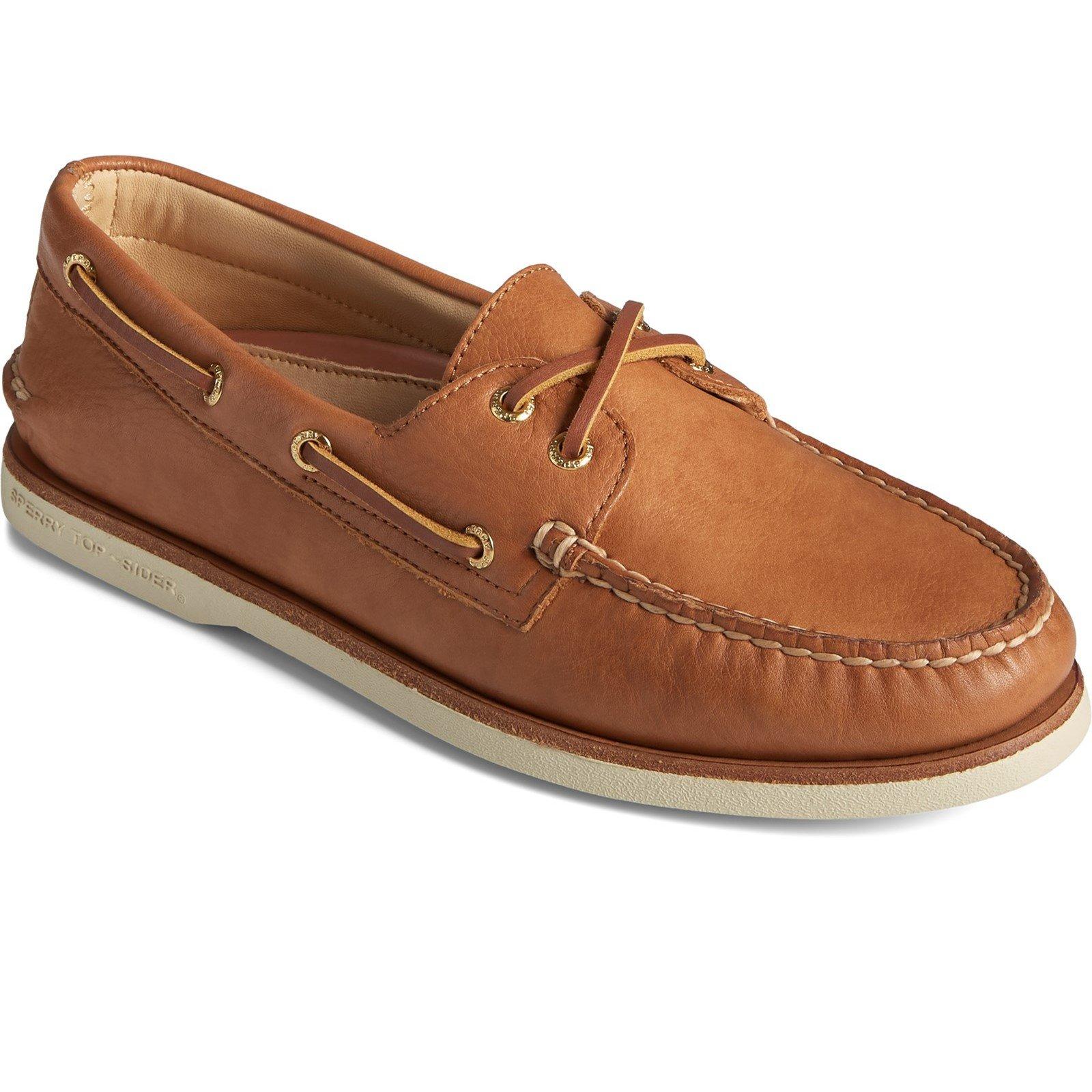 Sperry Men's A/O 2-Eye Boat Shoe Various Colours 32926 - Tan 10