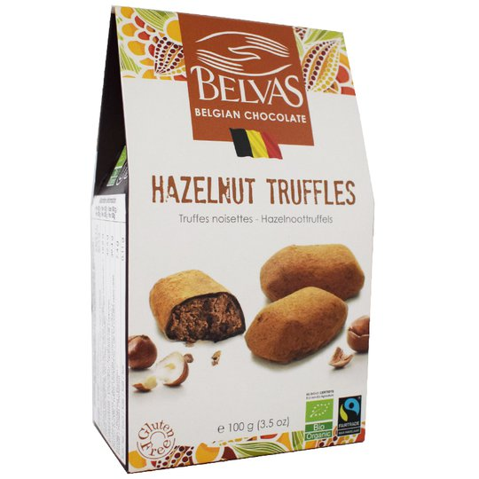 Eko Mörk Chokladtryfflar Hasselnöt - 30% rabatt