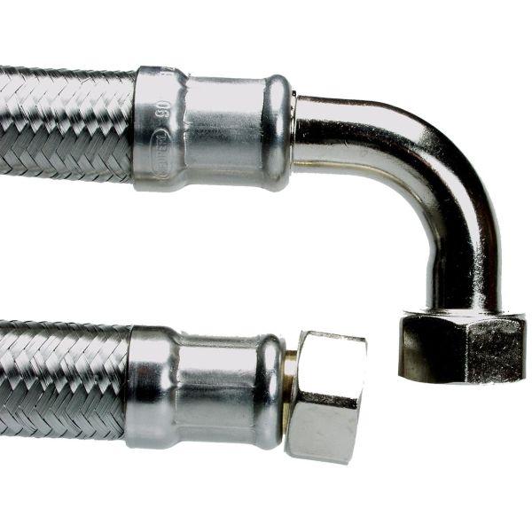 Neoperl 8192812 Tilkoblingsslange rett/vinkel, G20 400 mm