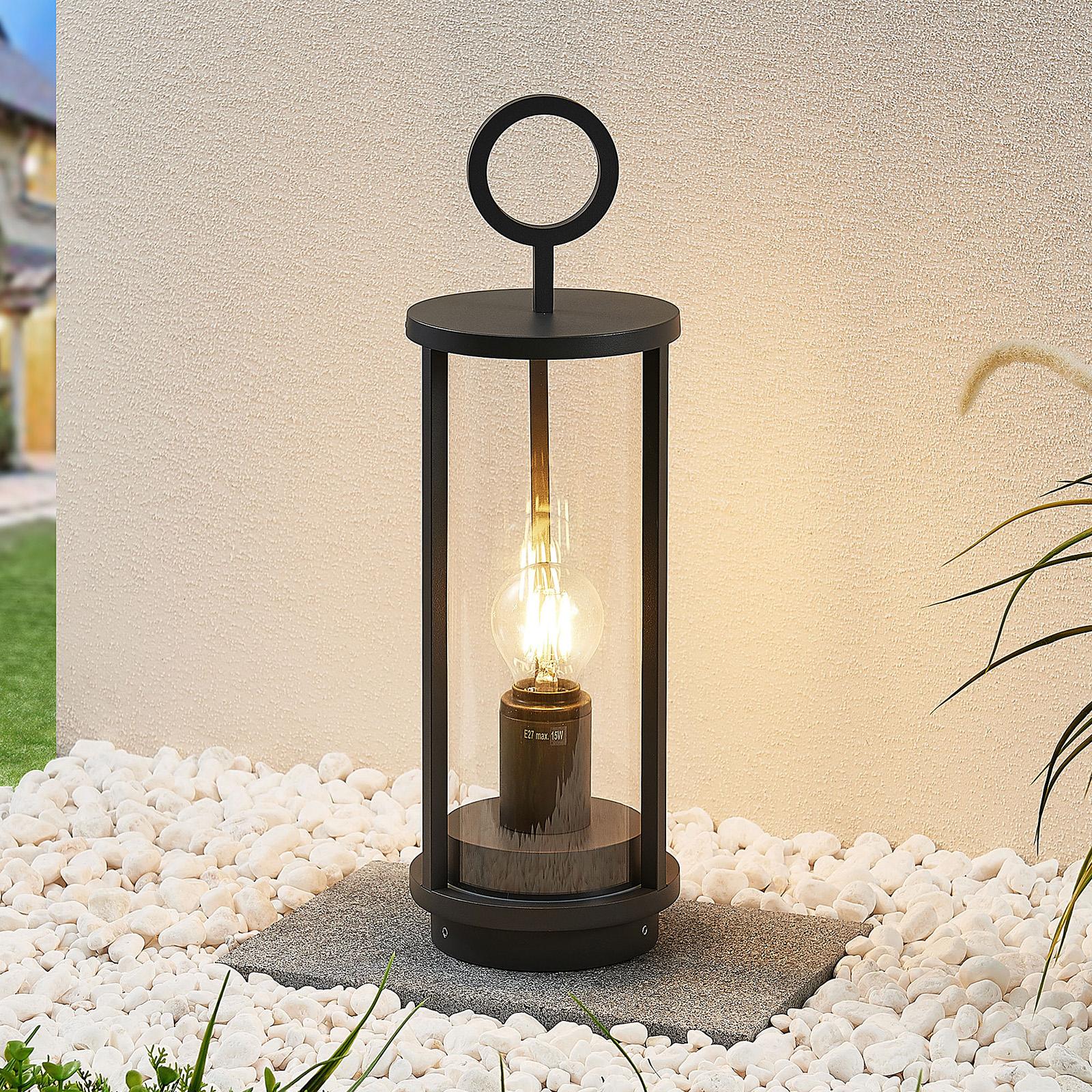 Lucande Emmeline -pollarilamppu, korkeus: 34 cm