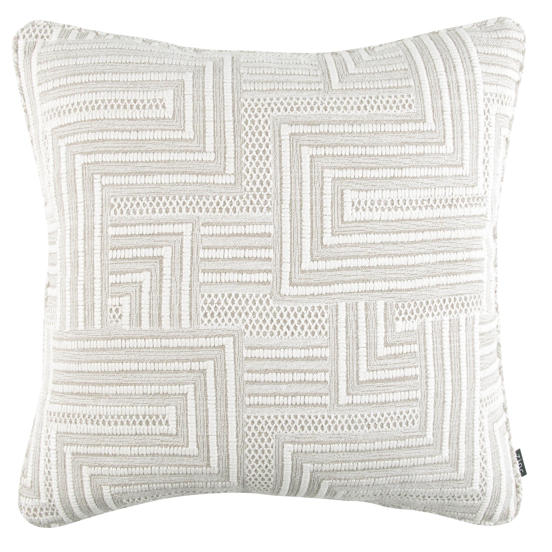Zinc Romo I Macrame Cushion | Linen 50x50cm