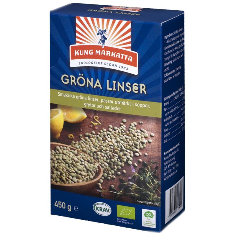 Gröna Linser 450g - 43% rabatt