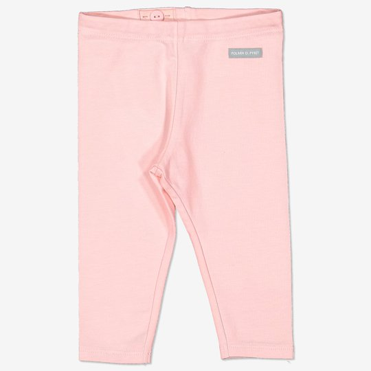 Ensfarget tights baby rosa
