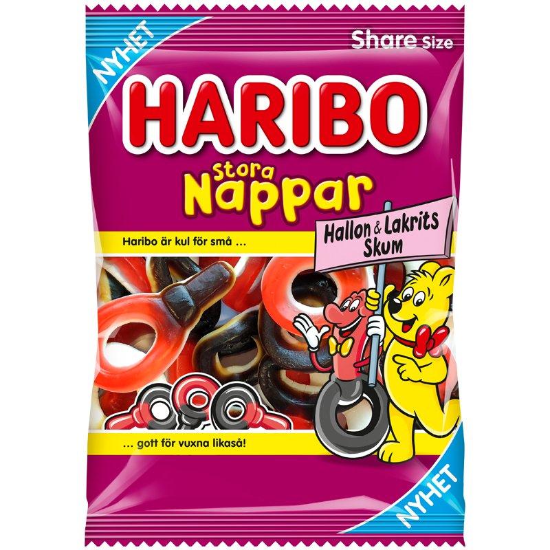 Stora Nappar Hallon & Lakrits Skum - 12% rabatt