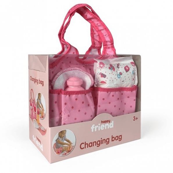 Happy Friend - Diaper Bag with Doll Care (504309)