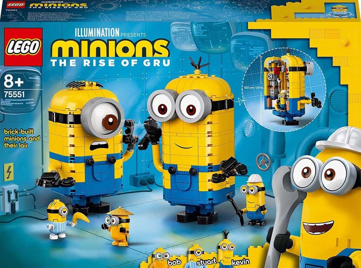 LEGO Minions 75551 Kätyrit: Rakennussarja