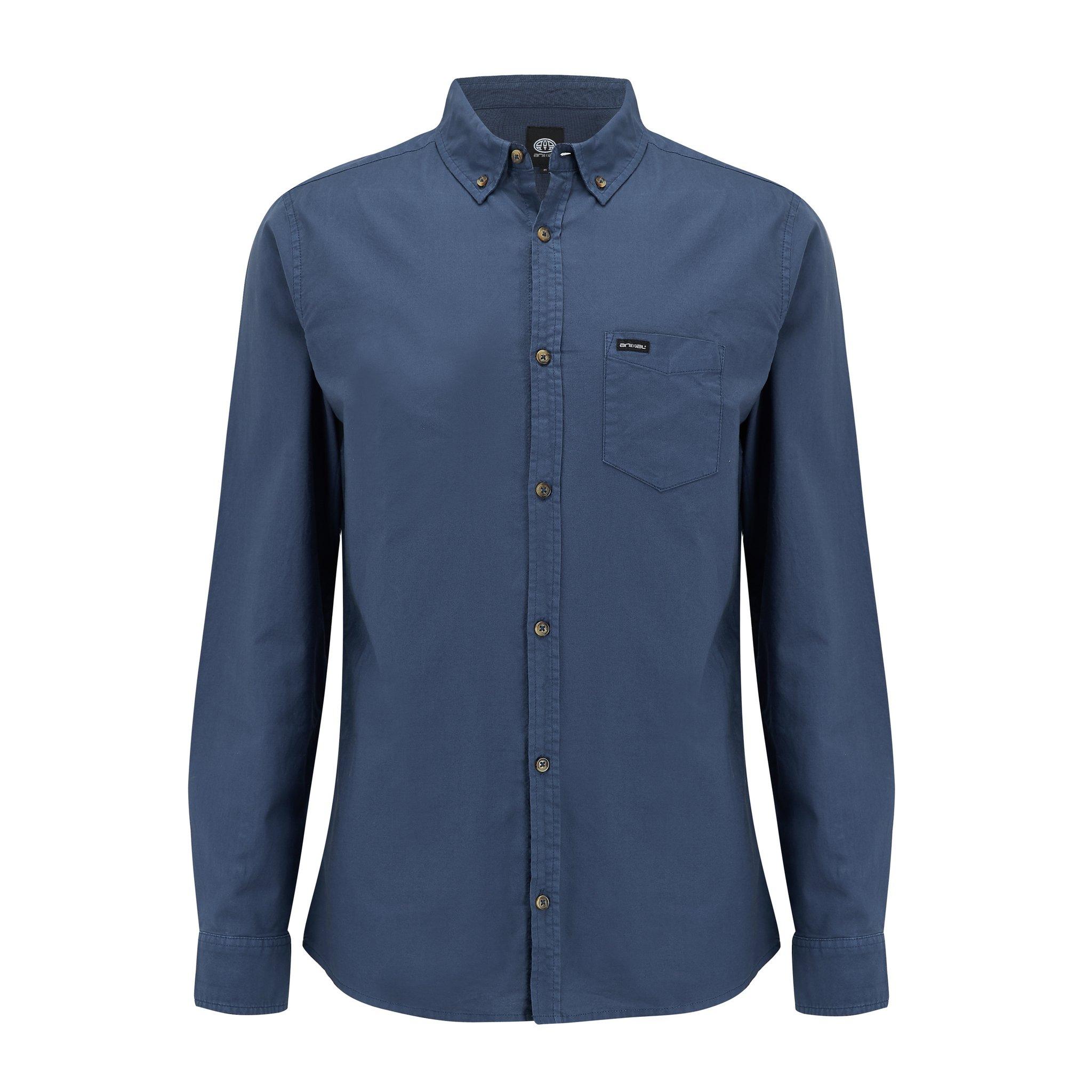 Animal Clothing Men's Robbie Shirt Various Colours 5054569924548 - M Blue