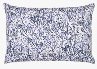 Field koristetyyny moniväri/sininen