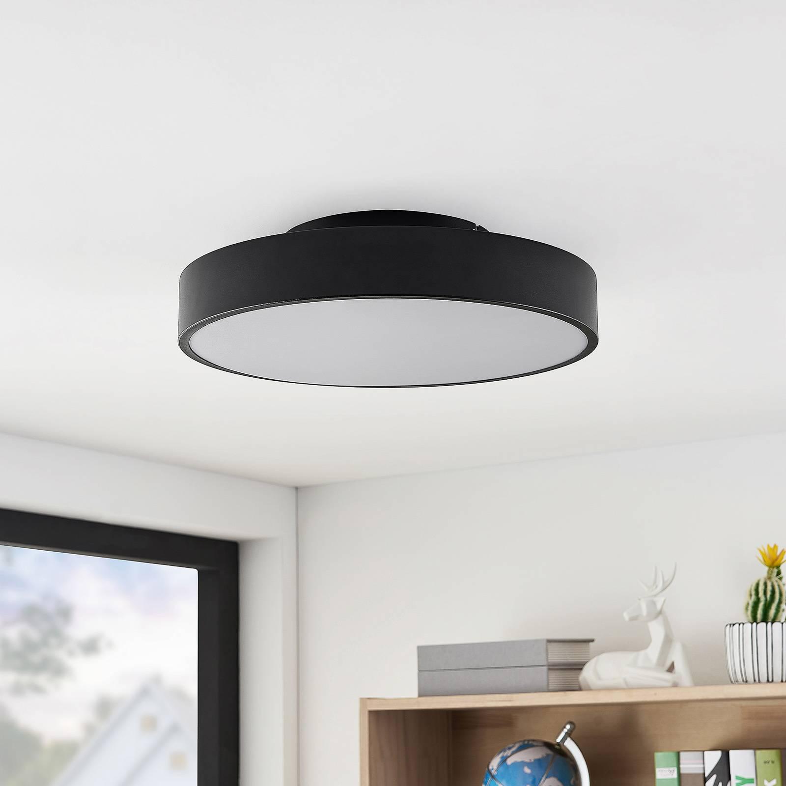 Lindby Milada -LED-kattovalaisin musta