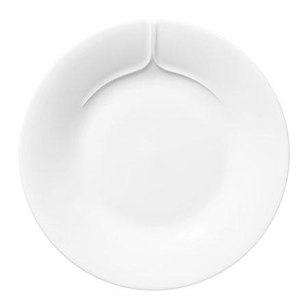 Pli Blanc Tallerken 17 cm