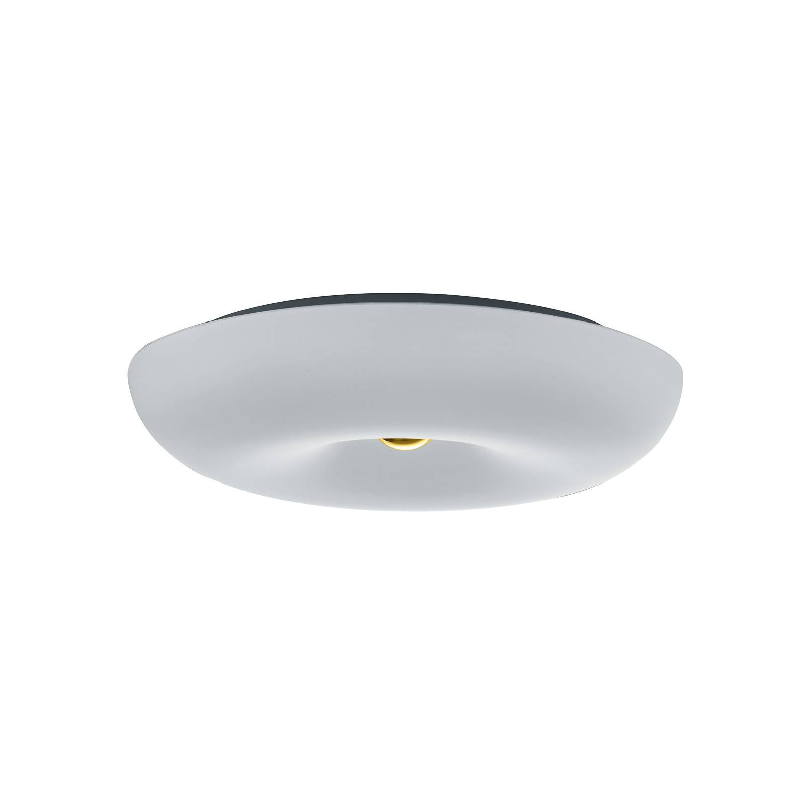 BANKAMP Vanity glass-taklampe LED, messing