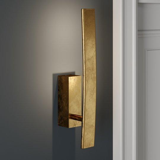 Kultainen LED-seinävalaisin Xalu