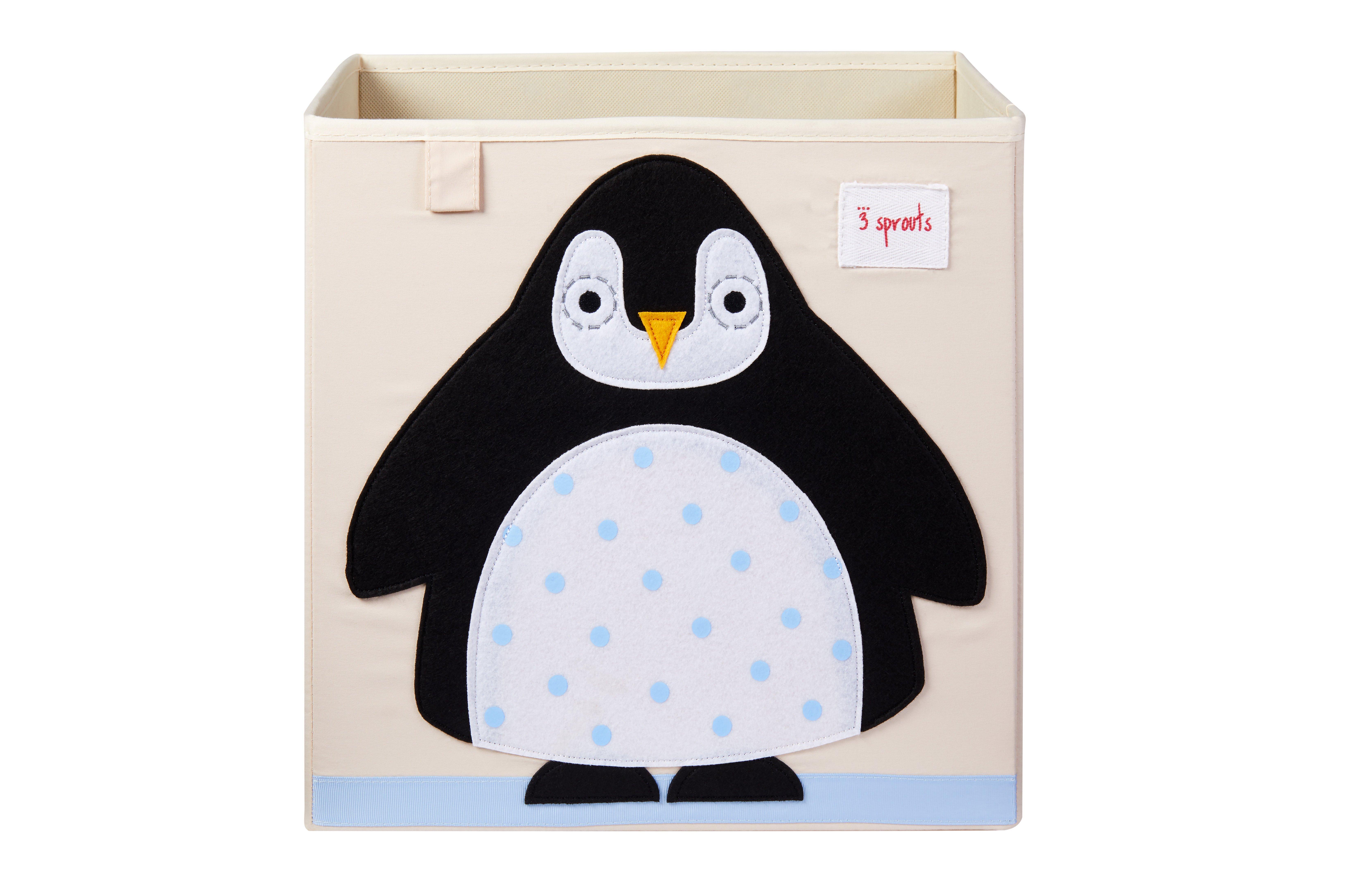 3 Sprouts - Storage Box - Black Penguin