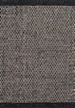 Asko Teppe Svart 70x140 cm