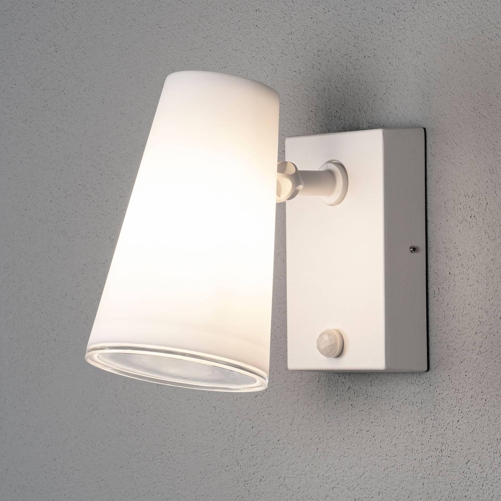 LED-ulkoseinäkohdevalo Fano liiketunnistimella