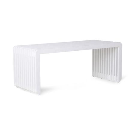 slatted Bench/Element White