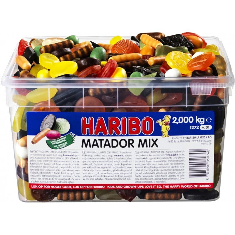Haribo Matador Mix 2kg